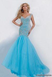 blue prom dress with straps 2016-2017   B2B Fashion