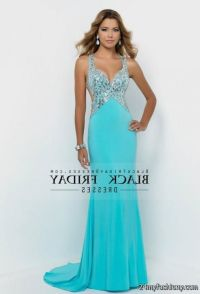 blue prom dresses with straps 2016-2017   B2B Fashion