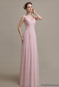 Blush Chiffon Bridesmaid Dresses | www.imgkid.com - The ...