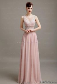 blush pink lace prom dress 2016-2017 | B2B Fashion