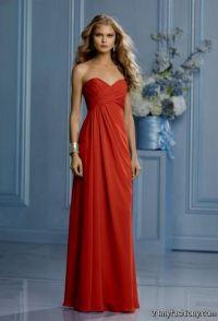 Burnt Orange Bridesmaid Dresses | All Dress