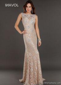 champagne lace prom dresses 2016-2017 | B2B Fashion