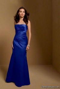 cobalt blue bridesmaid dress 2016-2017 | B2B Fashion