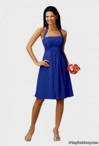 Cobalt Bridesmaid Dresses - Flower Girl Dresses