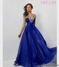 cobalt blue prom dress 2016