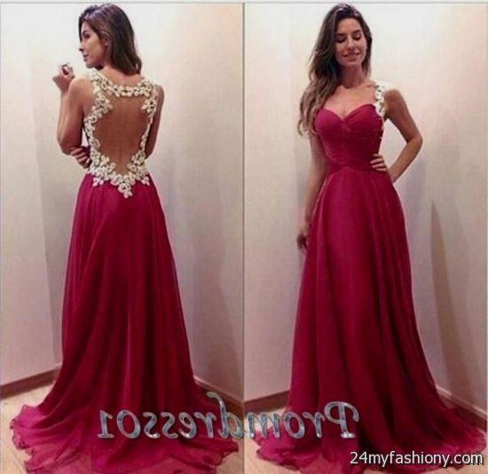cute long prom dresses with straps 2016-2017 » B2B Fashion