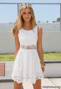 Cute white dresses for summer 2016-2017 | B2B Fashion