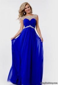 dark blue prom dresses with straps 2016-2017 | B2B Fashion