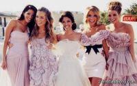 dark blush bridesmaid dresses 2016-2017   B2B Fashion
