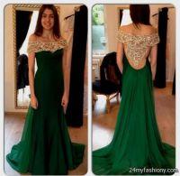 dark emerald green prom dress 2016-2017 | B2B Fashion