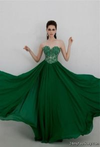dark emerald green prom dress 2016-2017 | B2B Fashion