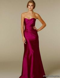 dark fuschia bridesmaid dresses 2016-2017 | B2B Fashion