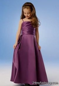 dark purple junior bridesmaid dresses 2016