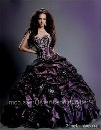 dark purple sweet 16 dresses 2016-2017 | B2B Fashion