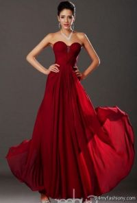 Dark Red Prom Dresses 2015 | www.imgkid.com - The Image ...