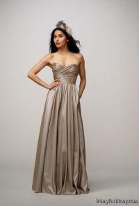 dark taupe bridesmaid dresses 2016-2017 | B2B Fashion