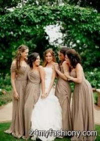 dark taupe bridesmaid dresses 2016-2017 | B2B Fashion