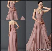 dusty rose bridesmaid dresses 2016-2017 | B2B Fashion