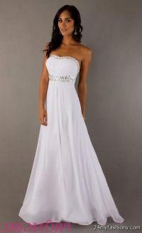 elegant white prom dresses 2016