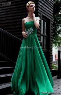 emerald green chiffon prom dresses 2016-2017 | B2B Fashion