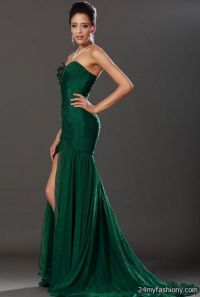 emerald green chiffon prom dresses 2016-2017 | B2B Fashion