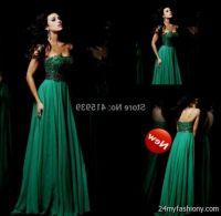 emerald green prom dresses 2016-2017 | B2B Fashion