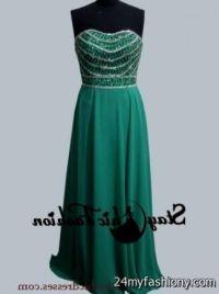 emerald green semi formal dresses 2016-2017   B2B Fashion