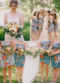 floral bridesmaid dresses 2016-2017 | B2B Fashion