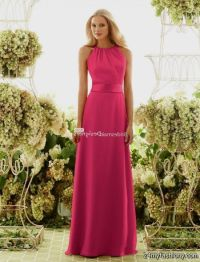 fuschia bridesmaid dresses chiffon 2016-2017 | B2B Fashion
