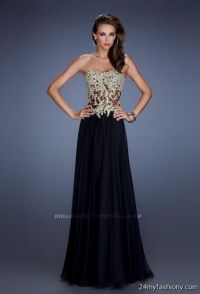 black and gold prom dresses gold and black prom dresses ...