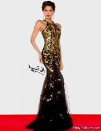gold and black prom dresses 2016-2017 | B2B Fashion