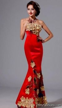 gold and red prom dresses 2016-2017 | B2B Fashion