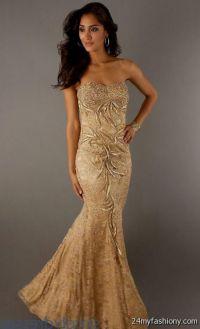 gold mermaid prom dresses 2016-2017 | B2B Fashion