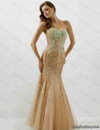 Gold Mermaid Prom Dress | www.imgkid.com - The Image Kid ...