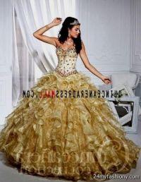 gold quinceanera dresses 2016-2017 | B2B Fashion