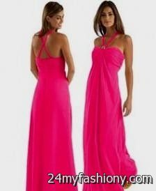 hot pink bridesmaid dresses david's bridal 2016-2017 » B2B Fashion