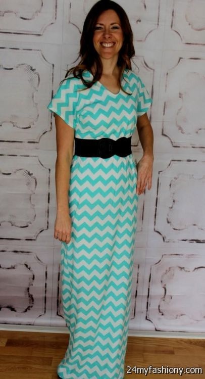 light blue chevron maxi dress 2016-2017 » B2B Fashion
