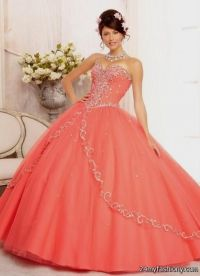 light coral quinceanera dresses 2016-2017 | B2B Fashion