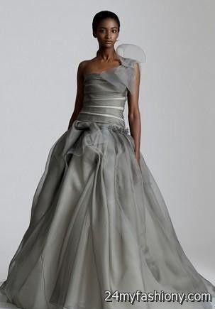 light gray wedding dress 2016-2017 » B2B Fashion