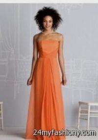 light orange bridesmaid dress 2016-2017 | B2B Fashion