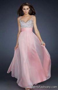 light pink prom dresses with straps 2016-2017 | B2B Fashion