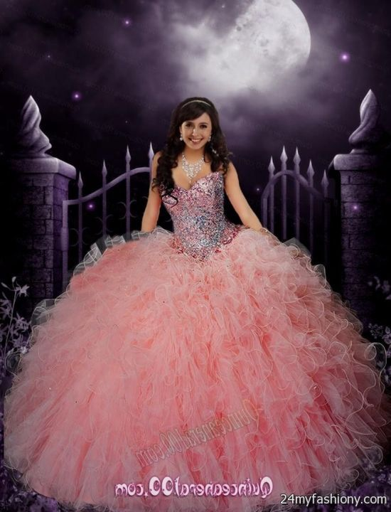light pink puffy quinceanera dresses 2016-2017 » B2B Fashion