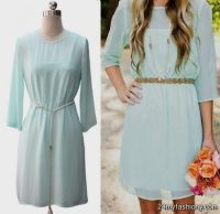 light teal bridesmaid dresses with sleeves 2016-2017 | B2B ...