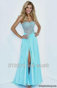 long blue prom dresses 2016-2017 | B2B Fashion
