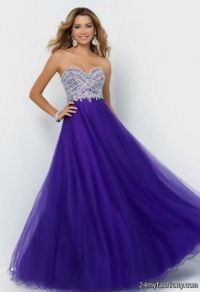 purple long prom dresses - Dress Yp