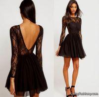 long sleeve short prom dresses tumblr 2016-2017 | B2B Fashion