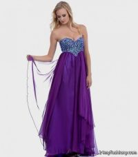 long strapless purple prom dresses 2016-2017 | B2B Fashion