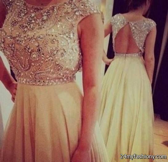 long tan lace bridesmaid dresses 2016-2017 » B2B Fashion