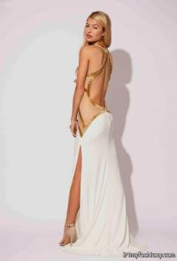 long white and silver prom dresses 2016-2017 | B2B Fashion