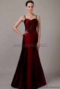 maroon bridesmaid dresses 2016-2017 | B2B Fashion
